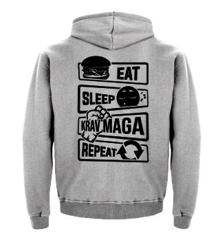 Eat Sleep Krav Maga Repeat - Fighting