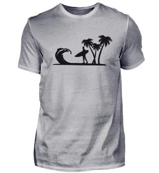 palmen urlaub surfen Geschenk Idee