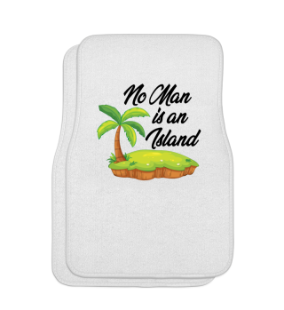 No One Is An Island - Human Being Gift