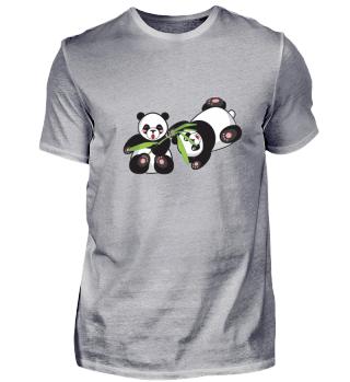 Comic Pandas spielen gr.