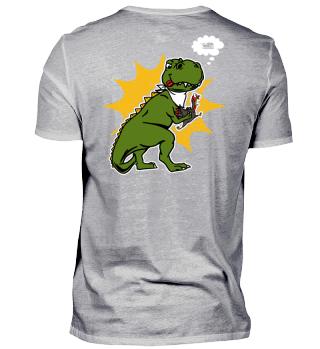 Dinosaur eats Turkey Gift