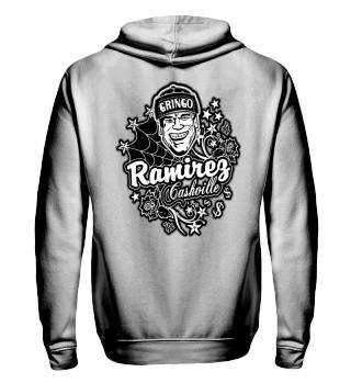 Herren Zip Hoodie Sweatshirt Cashville Ramirez