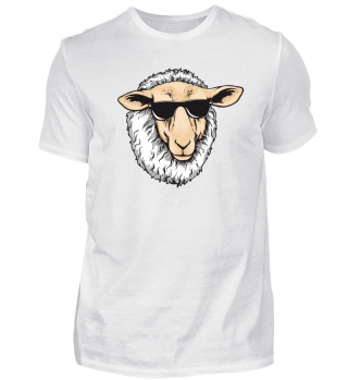 Cool Sheep With Sunglasses - Farmer Herd