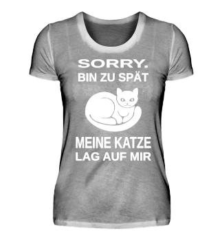 KATZE++KATZENLIEBE++KATZEN-SHIRT++