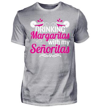 JGA DRINKING MARGARITAS SENORITAS