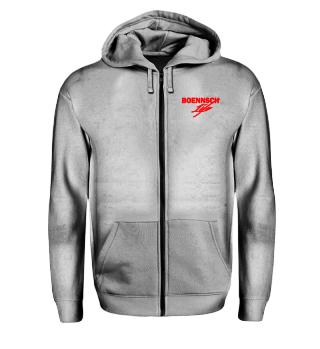 unisex zip hoodie bo doppel n