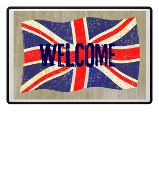 Flag of the United Kingdom Welcome
