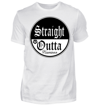Herren Kurzarm T-Shirt Straight Outta BW Ramirez