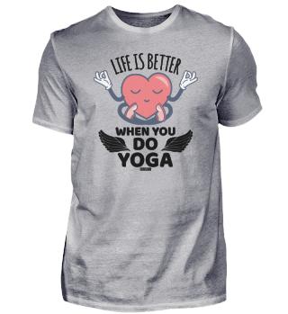 Yoga meditation positive