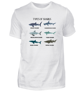 Types of sharks!