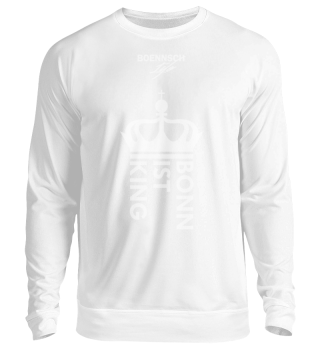 unisex sweatshirt bonn ist king