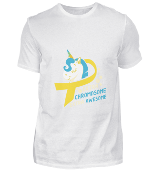 Down Syndrome Tshirt Trisomy Unicorn