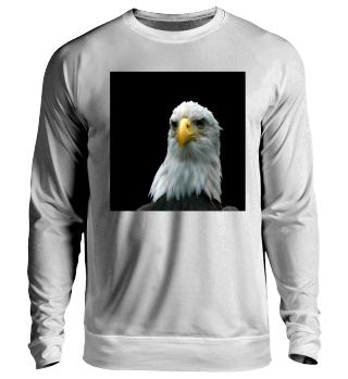 Weißkopf-Seeadler Sweatshirt Unisex