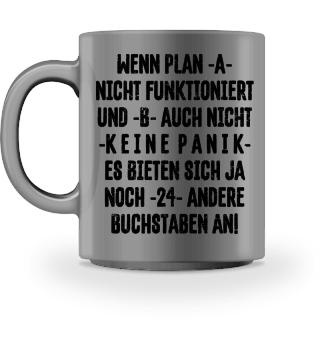 ★ Keine Panik Plan A funktioniert I