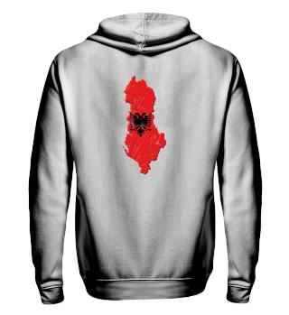 Albanien Hoodie als Geschenk