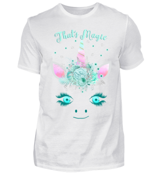 ♥ Cute Unicorn Flowers Magic Eyes 1