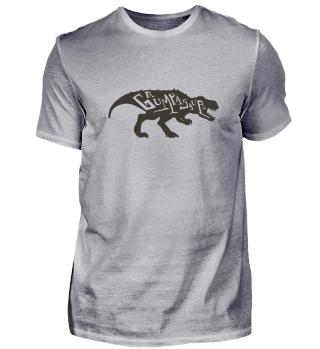 Grumpy Dinosaurier