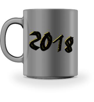 2018 Kaffeetasse