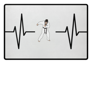 Mein Herz schlägt für Karate! Geschenk