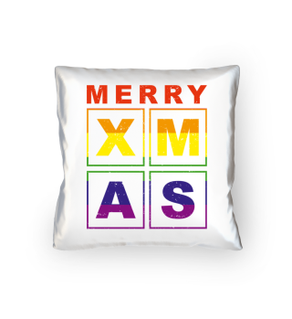 Stylish Square Frame - XMAS - lgbt