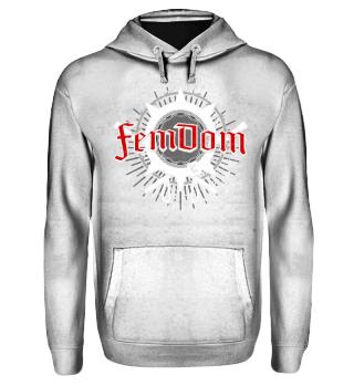 FemDom - Design - Hoodie Geschenk