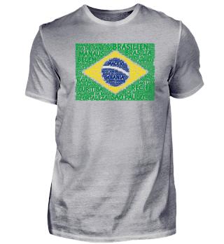 Brasilien-Shirt   WordCloud