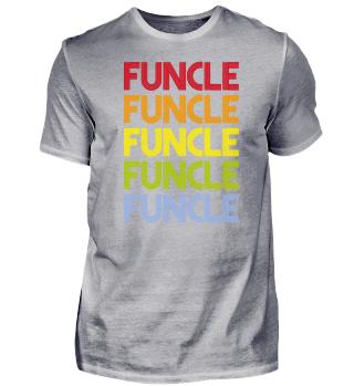 FUNCLE Onkel - Papa T-Shirt