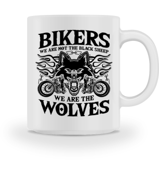 Bikers - wolves, not black sheep - Gift