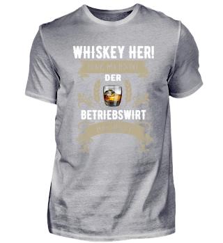 Whiskey her! Der Betriebswirt hat Durst