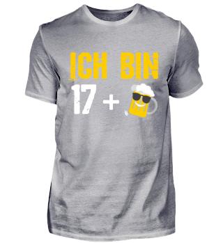 Geburtstags T-Shirt 18. Jahre Geschenk