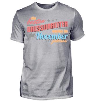 Dressurreiter Geburtstag November