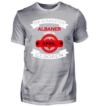 Die stärksten Albaner April