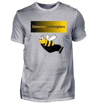 Biene, Hand, Rettung, Schützen