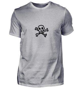 skull head | tattoo pirate | gift idea