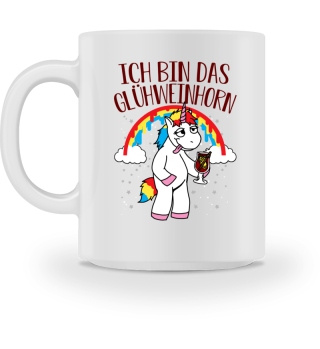 Glühweinhorn Tasse