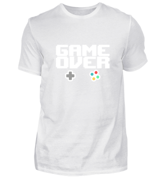 GAME OVER RETRO ARCADE GAMING 80er 90er