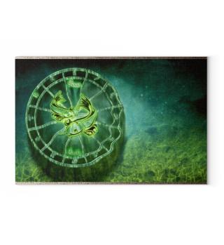 Leinwand Horoskop Sternzeichen FISCHE
