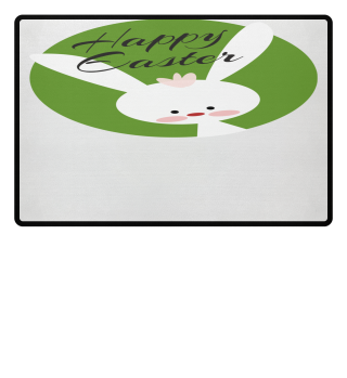 ★ Cute Happy Easter Bunny Greetings 1