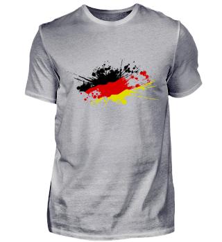 Deutschlandflagge Fleck WM