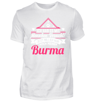 BURMA - der Versuch