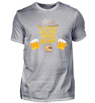 Bier - frisch gezapft T-Shirt