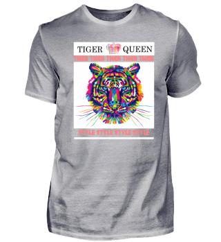 Tiger / Queen / Pink