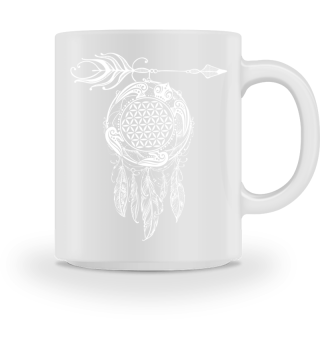 FLOWER OF LIFE Sea Turtle Dreamcatcher 2