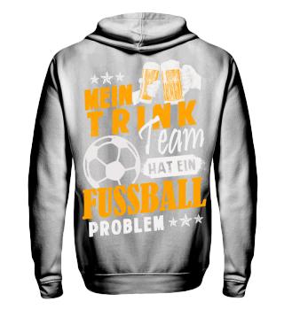 Fußball Trinkteam