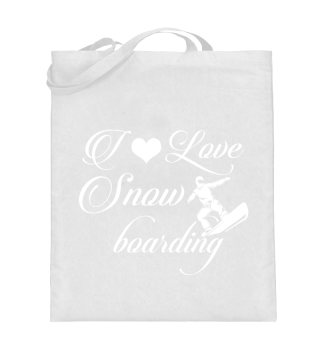 ☛ I LOVE SNOWBOARDING #3W