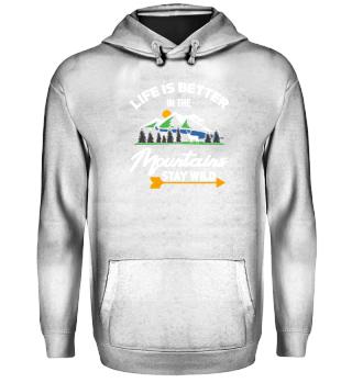 Wander Camper Camping Hiking T-Shirt