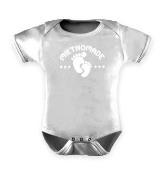 Mietnomade / Spruch fürs Baby