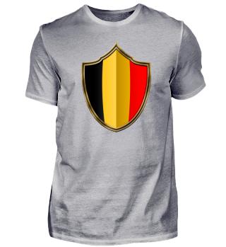 Belgien-Belgium Wappen Flagge 016