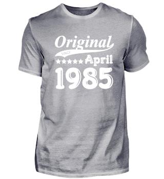Original Since April 1985