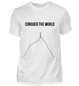 Limitiertes Erobere-die-Welt - T-Shirt!!